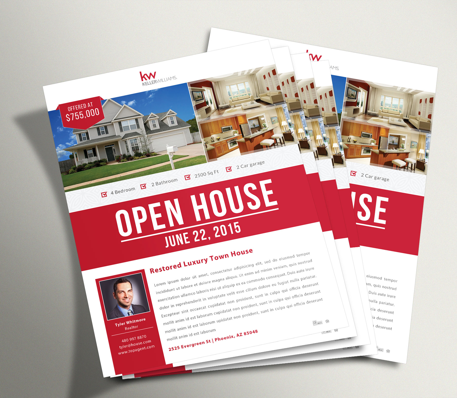 Open House Flyer 1  Open House Flyers